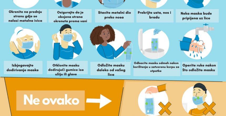 Kako pravilno koristiti platnenu masku (1)